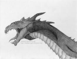 Flame Dragon by 8TwilightAngel8