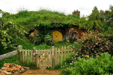 Lovely Hobbit Hole by 8TwilightAngel8