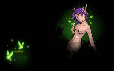 World of Warcraft Wp: Itonya by Zirconia