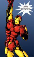 Marvel Comics: The Iron Man2 by Zirconia