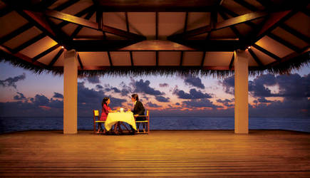 Dinner By the sea by sharadhaksar