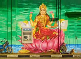Divine Irony - Lakshmi by sharadhaksar