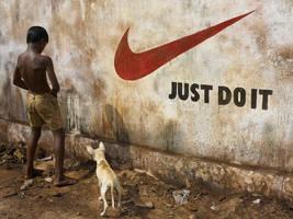 Brand Irony 1 - Just Do It by sharadhaksar