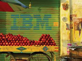 Brand Irony 6- Apple Cart by sharadhaksar