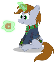 Littlepip on Holidays by CobaltWinterborn