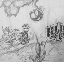 Rayman PSX_ DD2 by Odubon