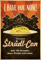 Strudel Con poster by Feinobi