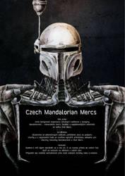 Giger mandalorian poster by Feinobi