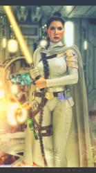 Princess Leia by artdude41