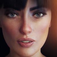 carey carter virtual actress by artdude41