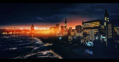 Janus mega city by artdude41