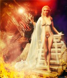 Khaleesi by artdude41