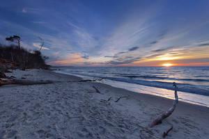 Weststrand Sunset by Dave-Derbis