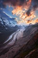 Johannisberg Glacier by Dave-Derbis