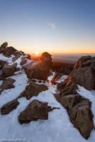 Wolfswarte Winter Sun by Dave-Derbis