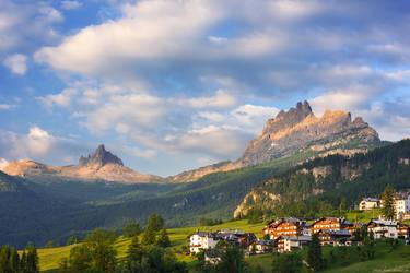 Alpine Idyll by Dave-Derbis