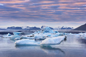 Glacier Bay Sunset by Dave-Derbis