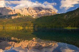 Zugspitze Reflection by Dave-Derbis