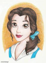 Belle by AnastasiaRedApple
