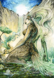 Water Lady by AlectorFencer