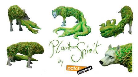 Plant Spirit Figurine FINAL by AlectorFencer