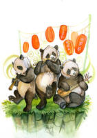 Stage Pandas by AlectorFencer
