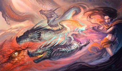 Wind of Legends by AlectorFencer