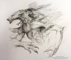 Haunter of Dreams - The Crow Eater by AlectorFencer