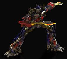Optimus Prime DOTM WIP by yongkykun