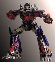 Optimus Prime DOTM Pose 2 by yongkykun