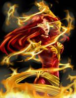 Dark Phoenix by Tico-Illustrations