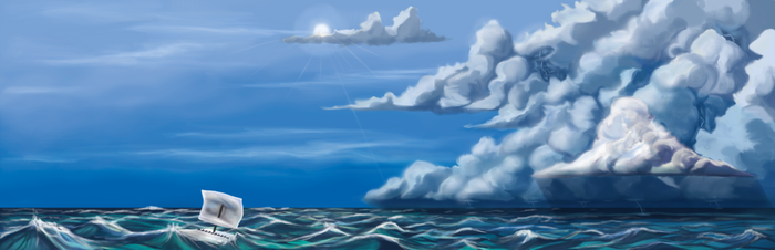 Adrift by Tico-Illustrations