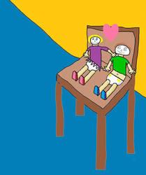 Toddler Love by FramolianKing