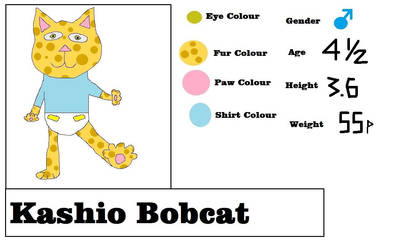 Meet Kashio Bobcat by FramolianKing