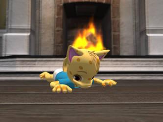 Warm Kitty by FramolianKing