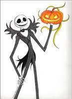 Jack Skellington by Allyson-x