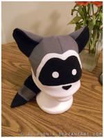 Raccoon Hat by Allyson-x