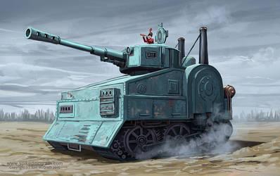 Steam Tank by SpikedMcGrath