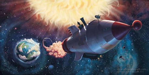Deep Space by SpikedMcGrath