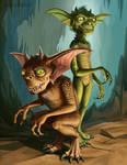 Gremlins by SpikedMcGrath