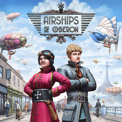 Airships of Oberon Cover by SpikedMcGrath