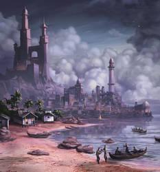Dark City by SpikedMcGrath