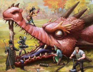The Dragon Dentists by SpikedMcGrath