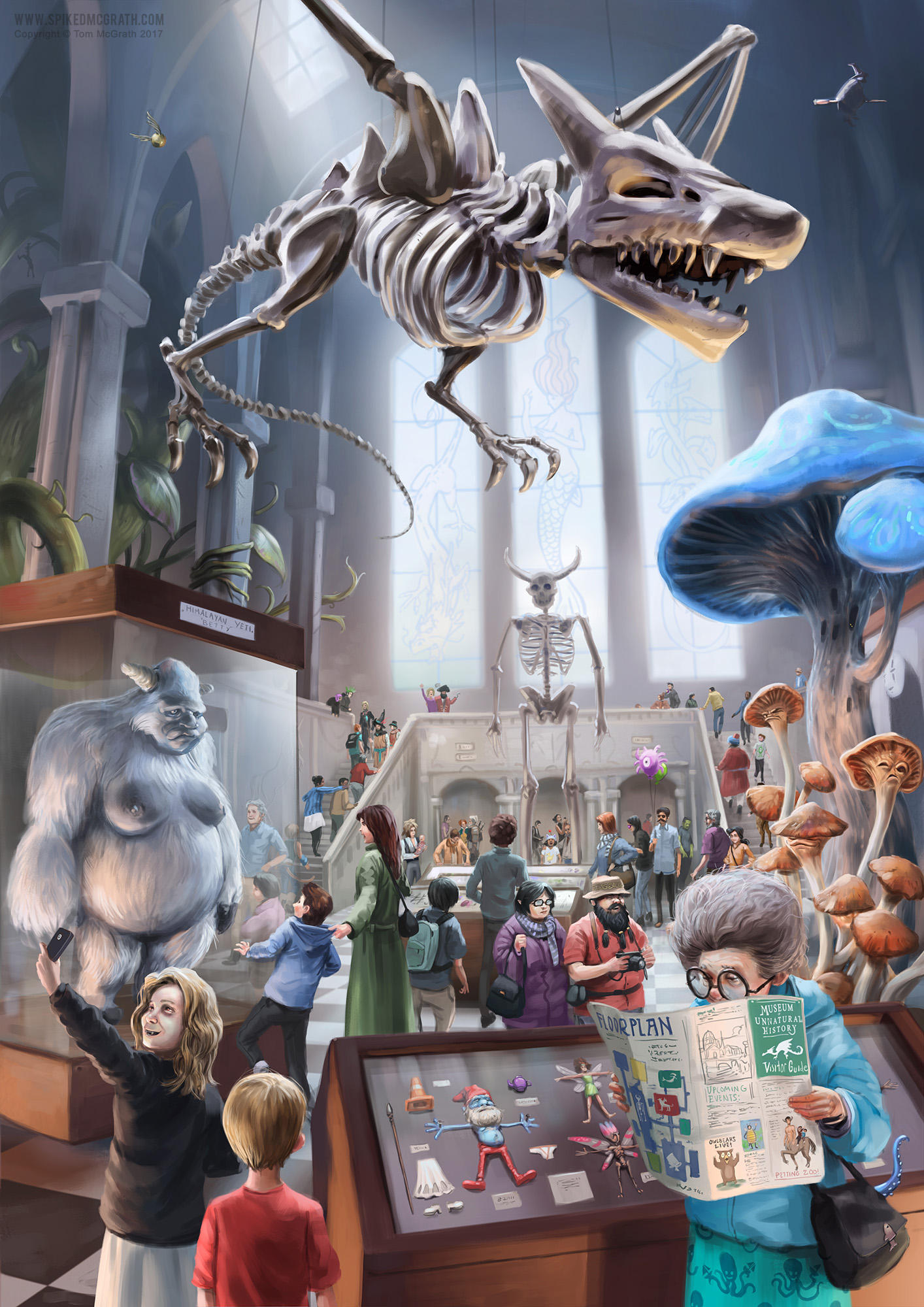 The Museum of Unnatural History by SpikedMcGrath