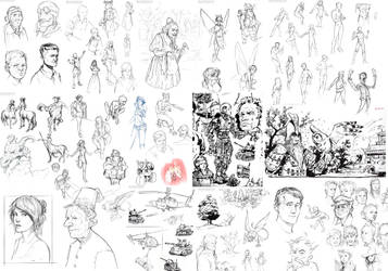Sketchdump 01 Pt2 by SpikedMcGrath