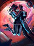Airlock Love by SpikedMcGrath
