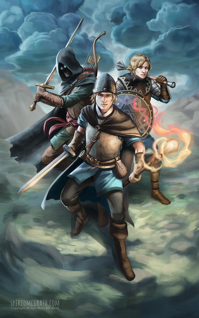 Wizard's Resolve by SpikedMcGrath