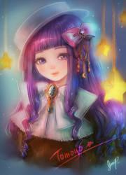 Tomoyo - Cardcaptor Sakura Fanart by XhiliJP