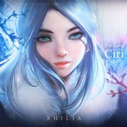 Ciri - Commission by Xhilia7