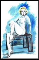 Marilyn Monroe by ShawnVanBriesen